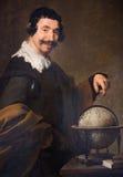 Democritus - pintura de Diego Velazquez (1640) fotos de archivo
