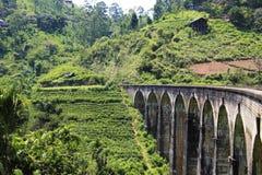 Demodara Nine Arch Bridge. Ella, Sri Lanka Royalty Free Stock Image