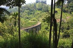 Demodara Nine Arch Bridge. Ella, Sri Lanka Stock Photos