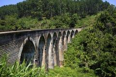 Demodara Nine Arch Bridge. Ella, Sri Lanka Royalty Free Stock Images
