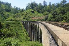 Demodara Nine Arch Bridge. Ella, Sri Lanka Stock Image