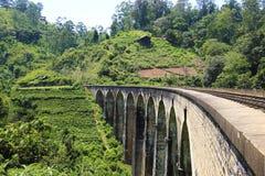 Demodara Nine Arch Bridge. Ella, Sri Lanka Royalty Free Stock Photography