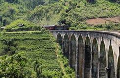 Demodara Nine Arch Bridge. Ella, Sri Lanka Stock Images