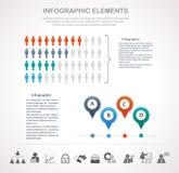 demographics ilustração stock
