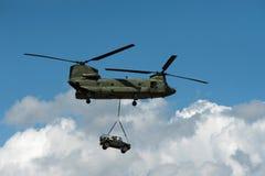 demohelikopter royaltyfri fotografi