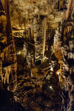Demoiselles de DES de Grotte Photographie stock