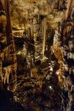 Demoiselles del DES di Grotte Fotografia Stock