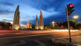 Demokratie-Monument, Thailand Lizenzfreie Stockfotografie