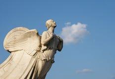 Demokratie - Statue an der Anschluss-Station beim Waschen lizenzfreies stockbild