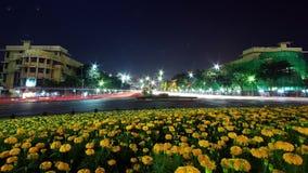 Demokratiedenkmal in Bangkok, Thailand Stockfotos