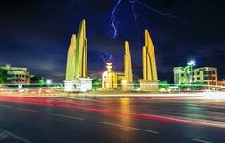 Demokratiemonument in Bangkok, Thailand Lizenzfreie Stockbilder