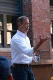 Demokratischer Präsidentschaftskandidat Martin O'Malley spricht in Des Moines, Iowa, am 26. September 2015 Lizenzfreie Stockfotos