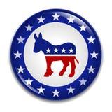 demokratisk logodeltagare för emblem
