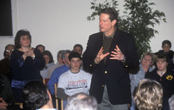 Demokratisk presidentkandidat Al Gore Royaltyfria Foton