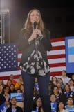 Demokratisk presidentkandidat Hillary Clinton Campaigns In Las Vegas, Nevada Royaltyfri Fotografi