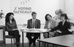 demokratisk vänster deltagare Arkivfoton