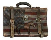 Demokratiskt politiskt bagage fotografering för bildbyråer
