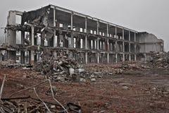 demolerad buidling Royaltyfria Foton