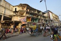 demolerad byggnad Royaltyfri Bild