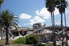 Demolição da arena de Orlando Amway (14) fotos de stock