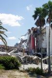 Demolição da arena de Orlando Amway (20) fotografia de stock royalty free