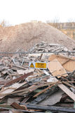 Demolição da construção Imagens de Stock