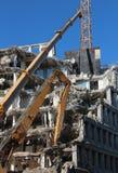 Demolição da construção foto de stock royalty free