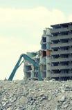 Demolição de um edifício 2 Imagens de Stock Royalty Free
