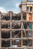 Demolição de um multi assoalho Bulding Foto de Stock