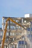 Demolição do edifício imagens de stock royalty free