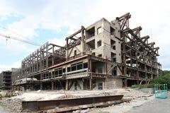 Demolição do palácio imagem de stock