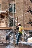 Demolição e construção Fotografia de Stock Royalty Free