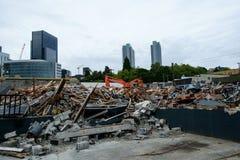 Demolição para a construção nova Imagens de Stock