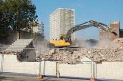 Demolición Foto de archivo