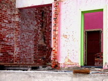 Demolición costera 2 imagen de archivo libre de regalías