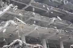 Demolición de edificios fotos de archivo libres de regalías