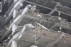 Demolición de edificios fotos de archivo