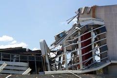 Demolición de la arena de Orlando Amway (24) Imagen de archivo libre de regalías