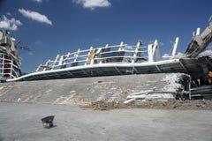Demolición de la arena de Orlando Amway (4) fotografía de archivo
