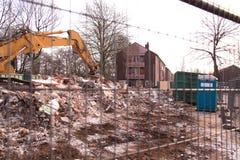Demolición de la casa Foto de archivo