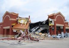 Demolición del almacén de droga Foto de archivo