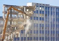 Demolición del edificio fotografía de archivo libre de regalías