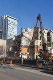Demolición del edificio Fotografía de archivo