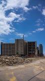 Demolición del edificio del hospital de Gold Coast Fotografía de archivo