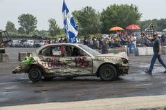 Demolición Derby Winner Fotos de archivo libres de regalías