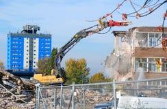 Demolición 2 de la escuela Imagenes de archivo