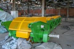 Demolierung der alten Chemiefabrik und des Baus eines n lizenzfreie stockfotografie