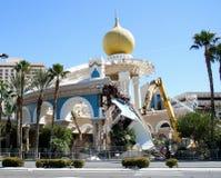 Demolierung Sahara Casinos lizenzfreie stockfotos