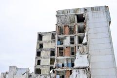 Demolierung und Abbau der Reste des großen Industrieunternehmens Lizenzfreie Stockfotografie