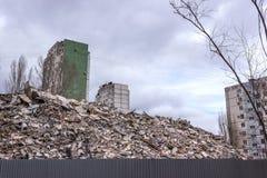 Demolierungs-Haus Lizenzfreie Stockbilder